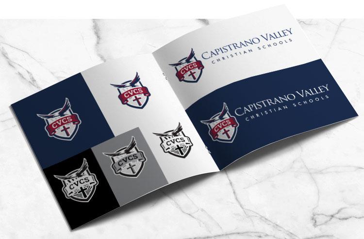 CVCS Logo Book